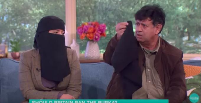 Мусульманка-генетик в никабе в борьбе «против» рака и «за» ношение никаба