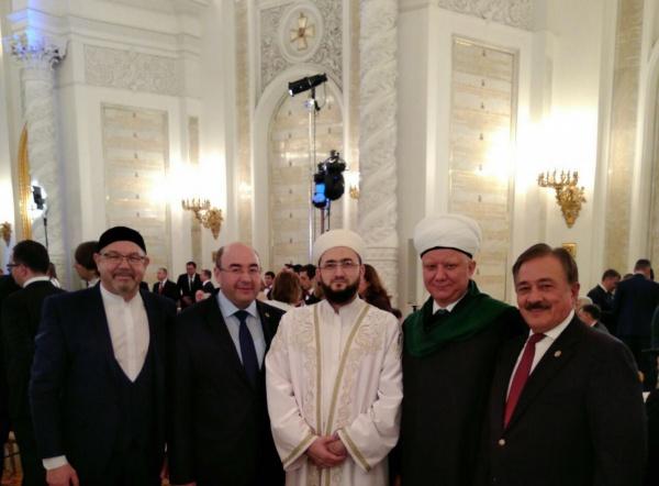 Муфтий Татарстана – на приеме у Президента Путина