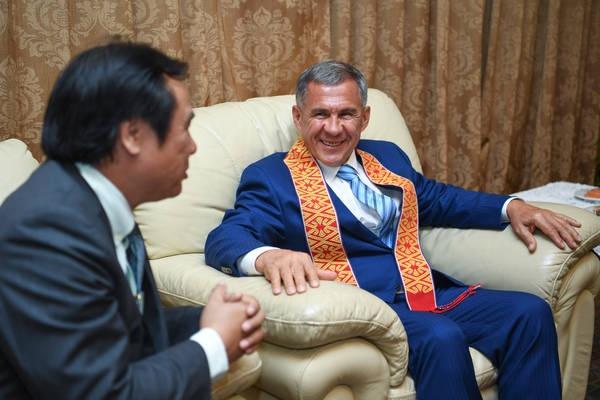 Минниханов: сотрудничество с исламскими странами – приоритет для Татарстана