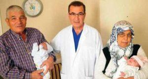 Мусульманка родила двойню в 56 лет