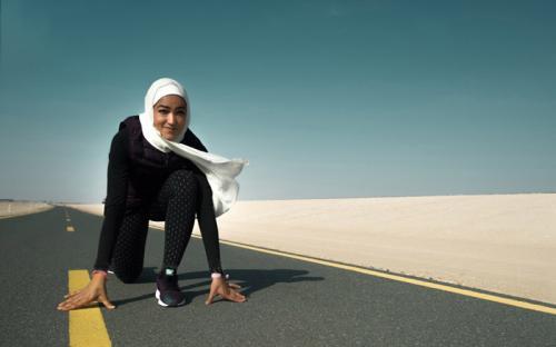 Спортсменка в хиджабе поучаствовала в Нью-Йоркском марафоне