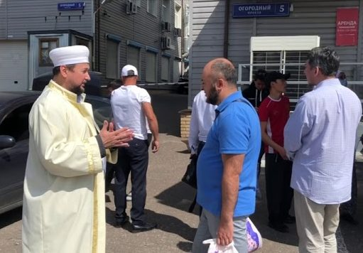 "Курбан байрам 2020 с МРО ""Рисалят"""