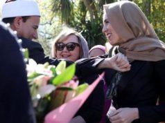 Премьер-министр в хиджабе открыла мемориал жертвам Крайстчерча
