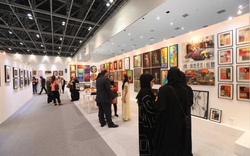 Крупная арт-выставка проходит в Дубае